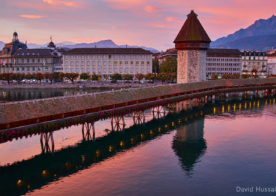 Water tower bridge - Lucerne